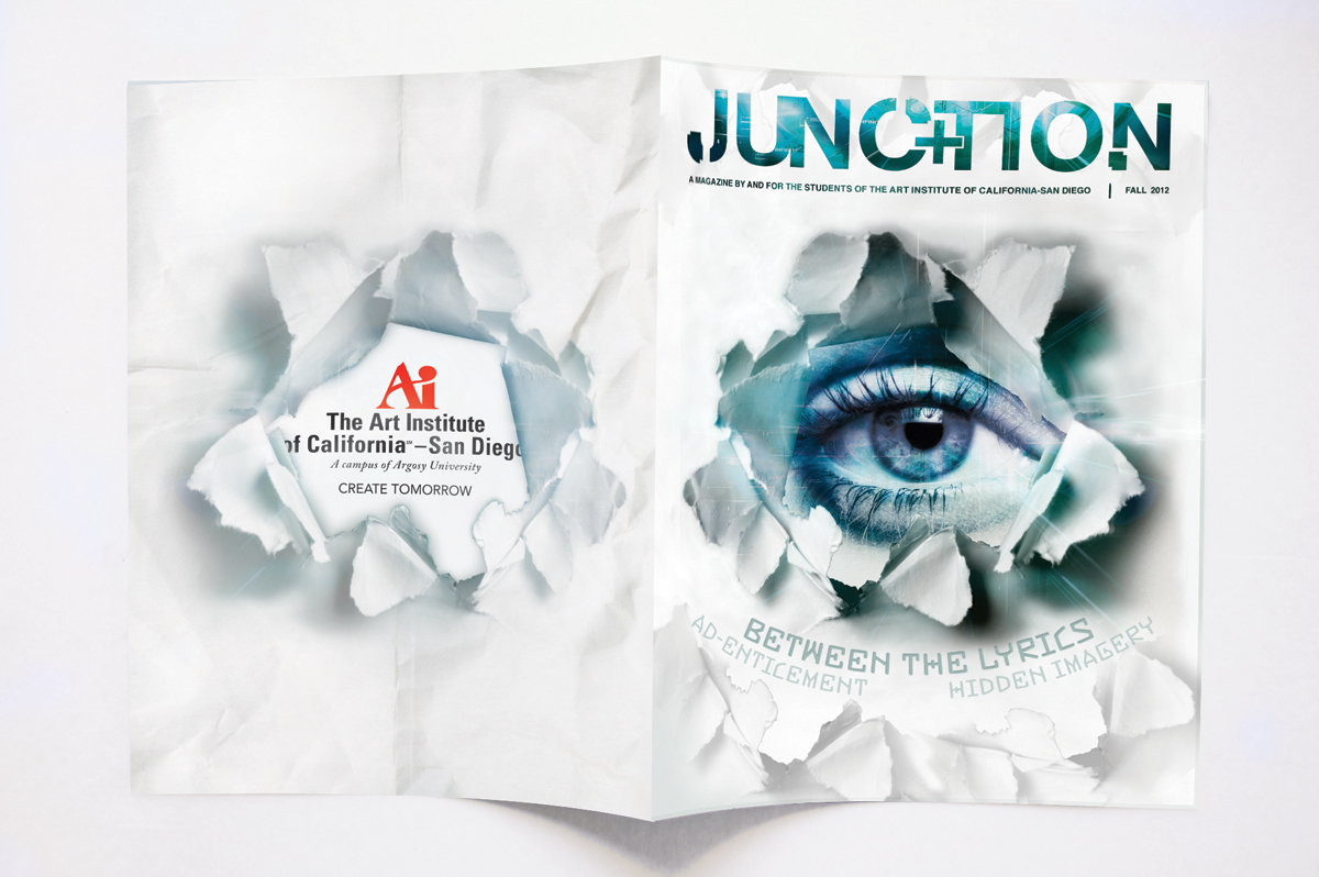 Art Institute Junction Magazine Cover — Izzy Cuibus | Graphic Design
