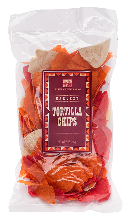Pepper Creek Farms Snack Packaging Tortilla Chips — Izzy Cuibus | Graphic Design