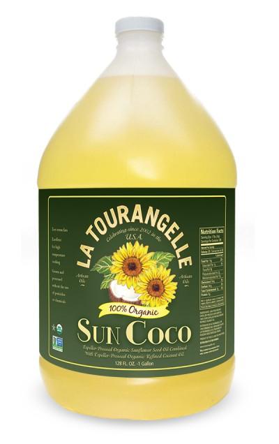 La Tourangelle Sunflower Coconut Oil  — Izzy Cuibus | Graphic Design